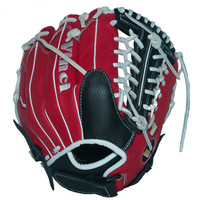 Vinci Fortus Series 12 Inch Fielders Glove Red and Black