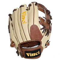 Vinci Pro CP Leather Series JV20 Cream/Brown 11.5 inch Baseball Glove