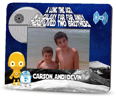 Picture Frame – Personalized brothers / Star Wars