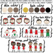 Christmas Ornament customizable character choices