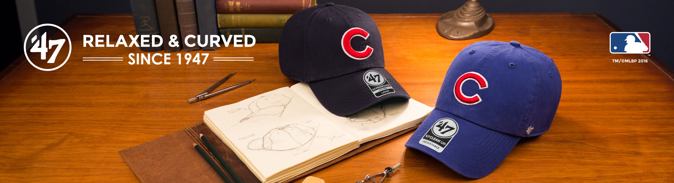 Chicago Cubs Caps by '47