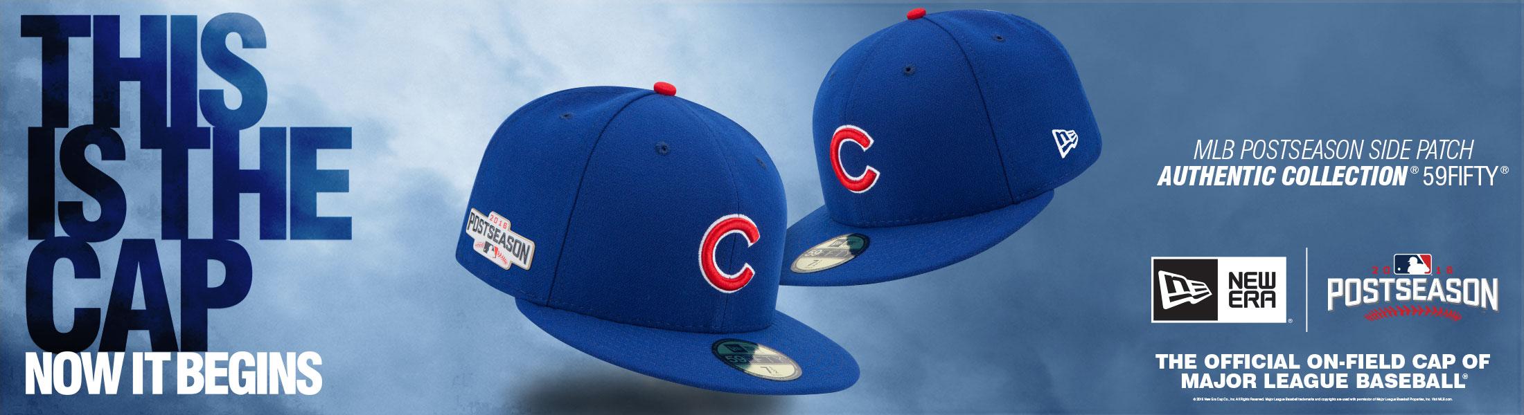 Chicago Cubs 2016 Postseason 59Fifty Cap