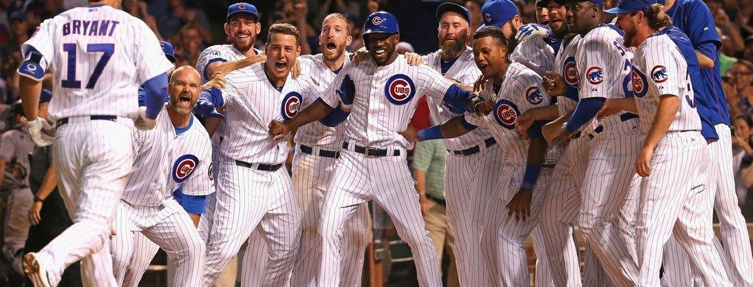 Chicago Cubs Celebrating