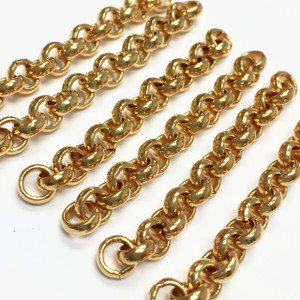 Vintage Gold Plated Rolo Style Chain Extender Lengths