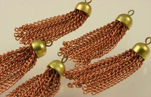 Vintage Simply Chain Tassels