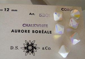 Vintage 5301 Chalkwhite AB 12mm