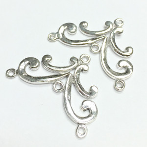 "Sterling Silver  Filigree ""The Megan"" Chandelier-16 x 25mm"