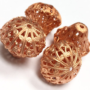 Vintage Chandelier Filigree Beads 18mm