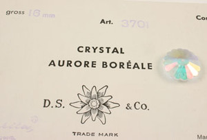 Vintage Swarovski Art. #3701 Crystal AB - 16mm