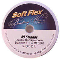 Soft Flex Beading Wire Medium