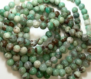 Chrysoprase Round Beads-10mm