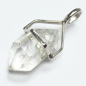 Herkimer Diamond Pendants in Sterling Silver