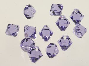 Swarovski Crystal Beads Art # 6301 Tanzanite