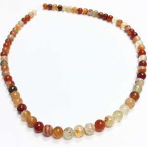 Carnelian Smooth round Beads-6mm