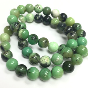 Chrysophrase Beads 8mm