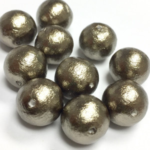 Miyuki Cotton Pearl Beads-12mm-Bronze