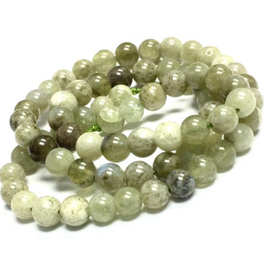 New Jade Smooth Round Beads 6mm