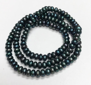 Teal Freshwater Pearl Beads