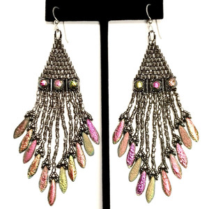 Boujee Boho Chic Earring Kit-Designed By Maggie Roschyk-Full Vitrail (