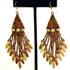 Boujee Boho Chic Earring Kit-Designed By Maggie Roschyk-Full Marea