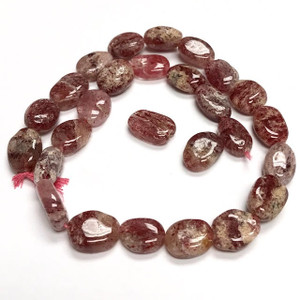 Highly Polished Muscovite Flat Oval Beads