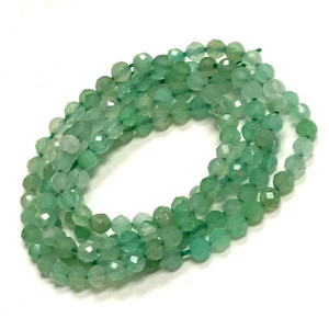 Chrysoprase Micro Cut Beads