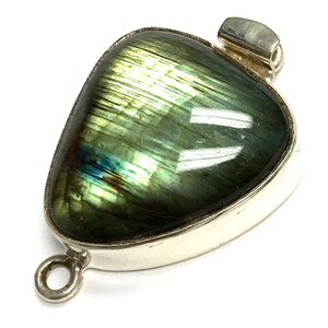 One-of-a-Kind Free Form Labradorite Clasp #26