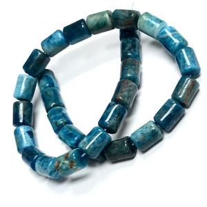 Apatite Highly Polished Barrel Beads