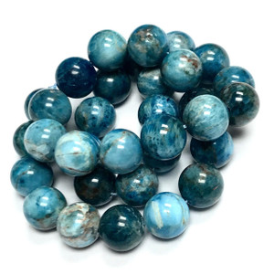 Highly Polished Apatite Round Beads-12mm