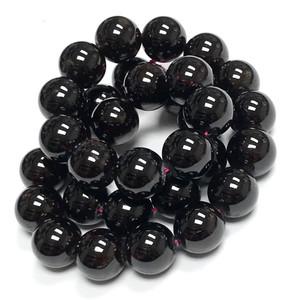 Highly Polished Garnet Round Beads