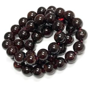 Garnet Round Beads Highly Polished