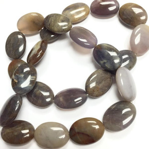 Imperial Purple Agate Ovals
