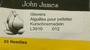 Glovers Needles - Size #12
