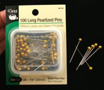Pearlized Gold Long Pins