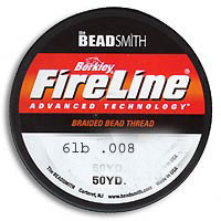 FireLine Crystal Fine Braided Bead Thread
