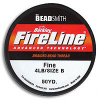 "Fireline Smoke Grey - 4lb .006"" diameter"