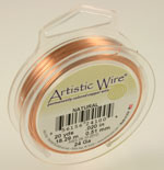 Natural Copper Wire 24 Gauge