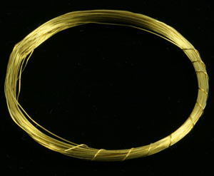 Raw Golden Yellow Brass Wire