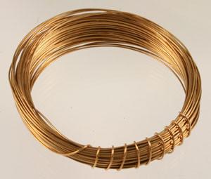 Vintage Brass Wire
