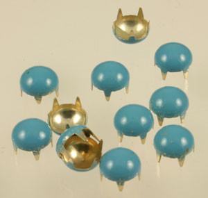 Vintage Turquoise Blue Brads