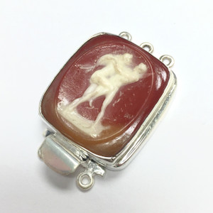 Vintage Cameo Clasp The Naughty