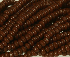 Charlotte Glass Seed Beads - Size 13/0-Cinnamon