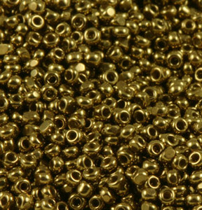 Charlotte Seed Beads - 15/0 Gold Luster