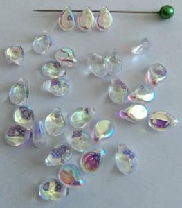 Pip Czech Glass Beads by Preciosa 5 x 7mm Crystal AB