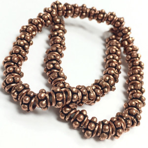 Antiqued Copper Beads-3 x 5mm