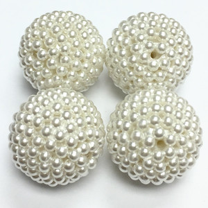 Vintage Japanese Seed Pearl Beads - 21mm