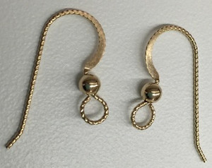 Gold Filled Slipless Ear Wires