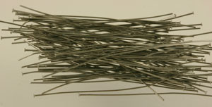 Gunmetal Flat Headed Headpins 2""
