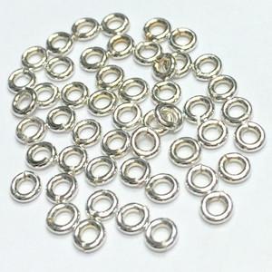 Sterling Silver Jump Rings (Open)-22 Gauge-2.5mm