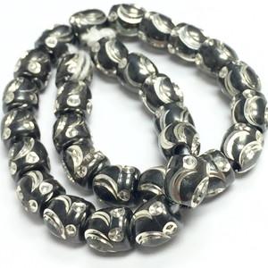 Antiqued Silver Machine Cut Beads